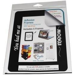 Meow -Adhesive Frames 5/Pk