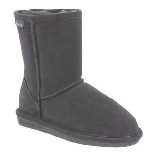 Bearpaw Women's Emma Short Boot Charcoal