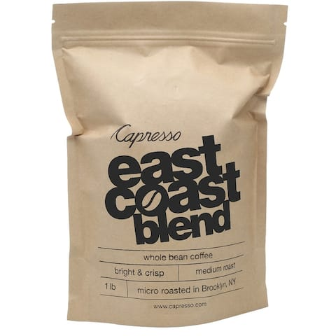 Capresso East Coast Blend Whole Bean Coffee (1-Pound)