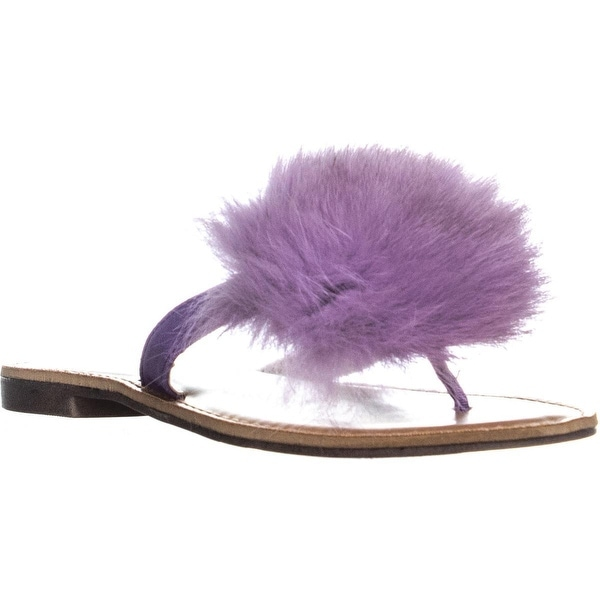 a9b725f3b27c Shop Bebe Katerina Pom Pom Block Heel Thong Sandals