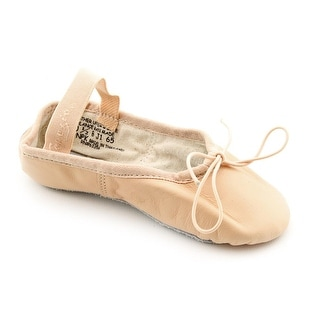 Capezio 200C EW Round Toe Leather Ballet Flats