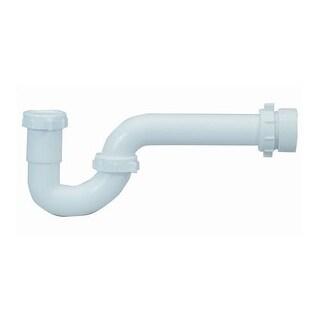 "Proflo PFPTP105 12-1/4"" Plastic SJ Tubular P-Trap (1-1/2"" X 1-1/2"" Connections)"