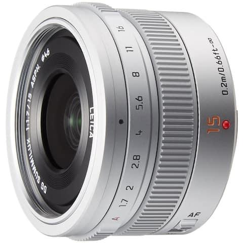 Panasonic LEICA DG SUMMILUX 15mm / F1.7 ASPH. H-X015 -S (Silver) - Intl Modal