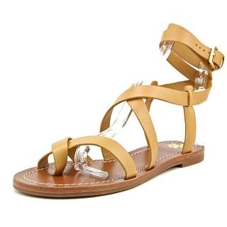 Tory Burch Patos Sandal Women Open Toe Synthetic Tan Gladiator Sandal