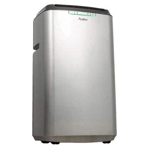 Avallon APAC120HS 12,000 BTU 450 Square Foot 120V Portable Air Conditioner and Heater with InvisiMist Drain Technology