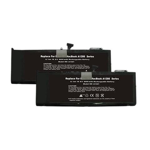Battery for Apple A1321 / 6615211 (2-Pack) Replacement Battery