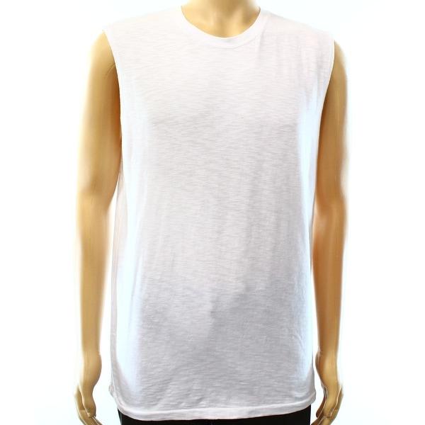 3502f117 Shop DENIM & SUPPLY RALPH LAUREN NEW White Mens Medium M Tank Muscle Shirt  - Free Shipping On Orders Over $45 - Overstock.com - 15618993