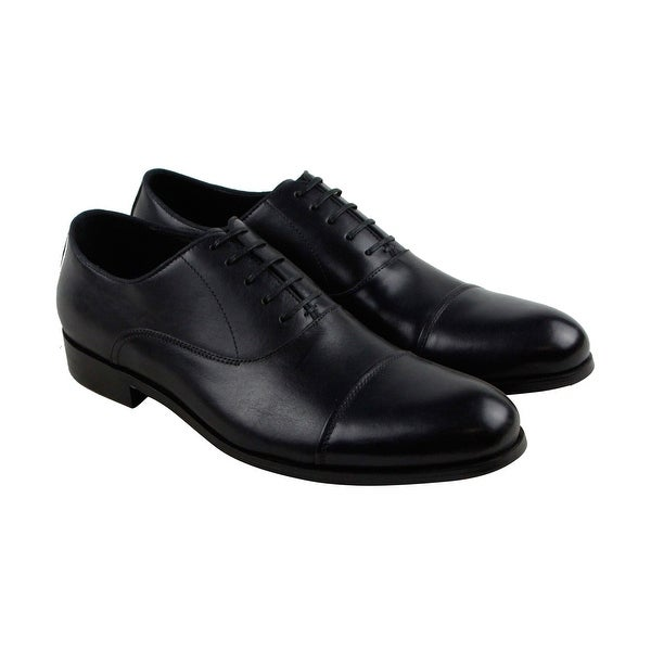 Kenneth Cole New York Country Club Mens Blue Casual Dress Oxfords Shoes