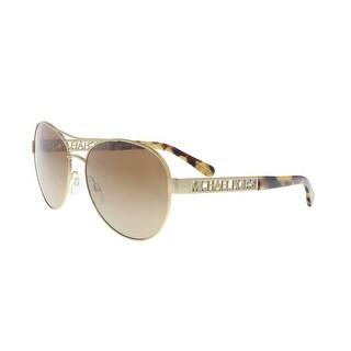 Michael Kors MK5003 100413 Gold Aviator Sunglasses - 60-16-135