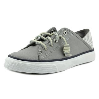 Sperry Top Sider Seacoast Isle Women Canvas Gray Fashion Sneakers