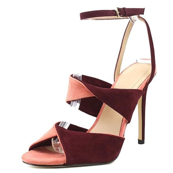 Aldo Ceari Women Open Toe Suede Multi Color Sandals
