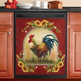 Country Rooster Dishwasher Magnet