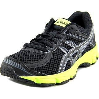 Asics GT-1000 4 GS Youth Round Toe Synthetic Black Running Shoe