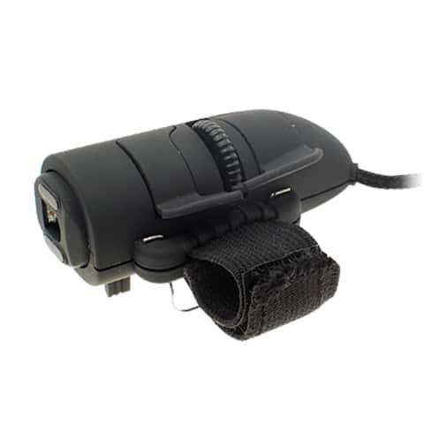 Plastic USB Interface Finger Optical 3D PC Computer Mouse Black