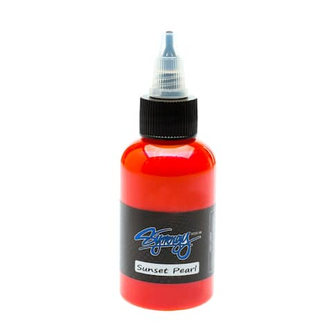 Synergy Tattoo Ink Sunset Pearl 1/2oz - Sunset Pearl