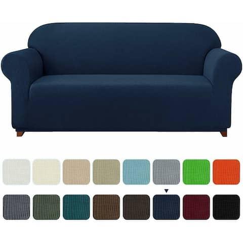 Subrtex Stretch Loveseat Slipcover 1 Piece Spandex Furniture Protector