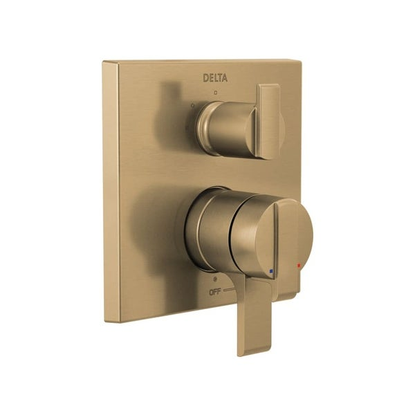 Delta T27867 Ara Monitor 17 Series Dual Pressure Balanced Valve Trim with Integrated Volume Control and 3 Function Diverter