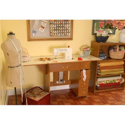 """Arrow 98900 Auntie Oakley Sewing Cabinet - 1"""" x 1"""" x 1"""""""