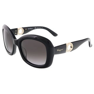 Salvatore Ferragamo SF728S 001 Black Butterfly sunglasses