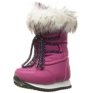 Polo Ralph Lauren Girls Avalon Snow Boots Faux Fur Faux Fur Trim - 5 medium (b,m)