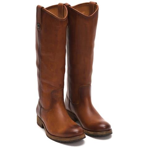 Frye Melissa Lug Leather Tall Boot