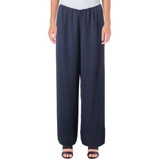 Alex Evenings Womens Dress Pants Chiffon Wide Leg - 8