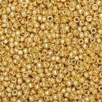 Toho Round Seed Beads 15/0 PF557 'Galvanized Starlight' 8g