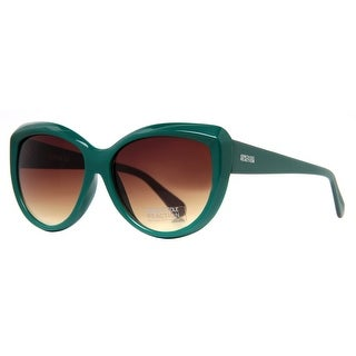 Kenneth Cole REACTION KC 2721 89F Green Women's Cat Eye Sunglasses - 59mm-15mm-140mm