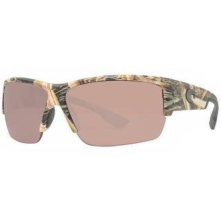 Costa Del Mar Hatch HT65 OSCP Mossy Oak Silver Copper Polarized 580P Sunglasses
