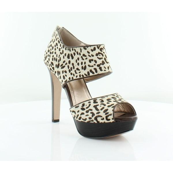 BCBGeneration Helara2 Women's Heels Snow Leopard - 8.5