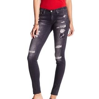 Adriano Goldschmied NEW Gray Women's Size 25X29 Leggings Bai Jeans