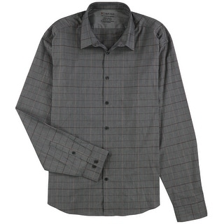 """Link to Calvin Klein Mens Extreme Slim Fit Button Up Dress Shirt, grey, 17""""-17.5"""" Neck 36""""-37"""" Sleeve - 17""""-17.5"""" Neck 36""""-37"""" Sleeve Similar Items in Shirts"""