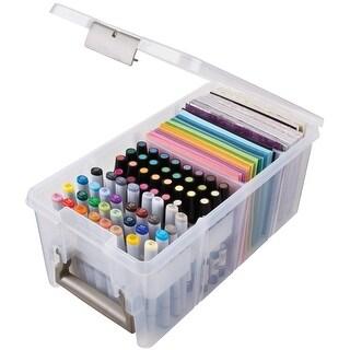 "ArtBin Marker Satchel-15""X8""X6.5"" Translucent"