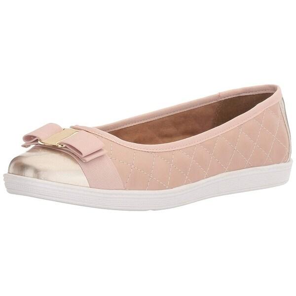 Soft Style Womens faeth Fabric Closed Toe - 7.5