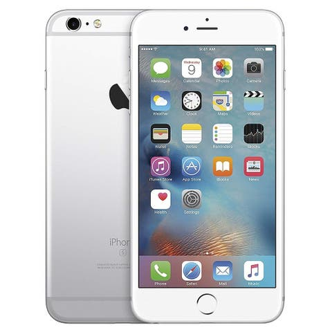 "Apple iPhone 6s 32GB 4.7"" 4G LTE VerizonUnlocked,Silver (Refurbished) - Silver"