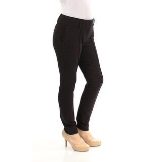 BAR III $59 Womens New 1183 Black Pocketed Skinny Casual Pants 0 Juniors B+B