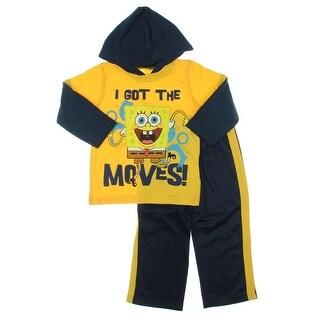 Nickelodeon Spongebob Toddler Fleece Pant Outfit - 2T