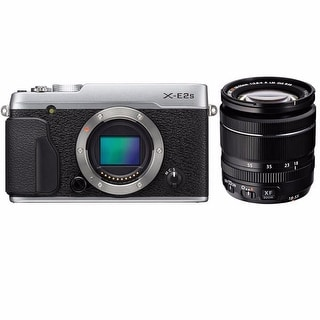 Fujifilm X-E2S Mirrorless Digital Camera with 18-55mm Lens (Silver)