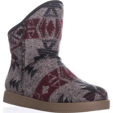 Indigo Rd. Aylee Pull On Snow Boots, Gray Multi