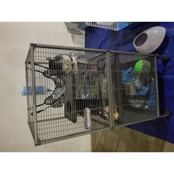 Shop Living Room Series Chinchilla/Ferret/Rat Home   Free Shipping Today    Overstock   16079163