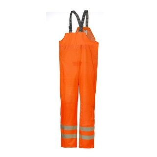 Helly Hansen Workwear Mens Narvik Bib High Visibility - Orange - XS