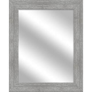PTM Images 5-15109 31 1/2 Inch x 25 1/2 Inch Rectangular Unbeveled Framed Wall Mirror