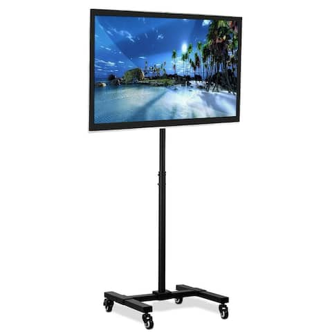 Mount-It! Mobile TV Stand with Wheels