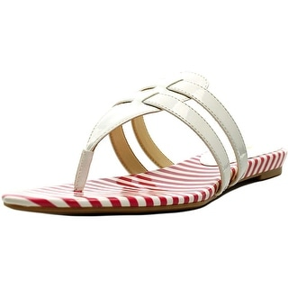 Nine West Outside   Open Toe Synthetic  Thong Sandal