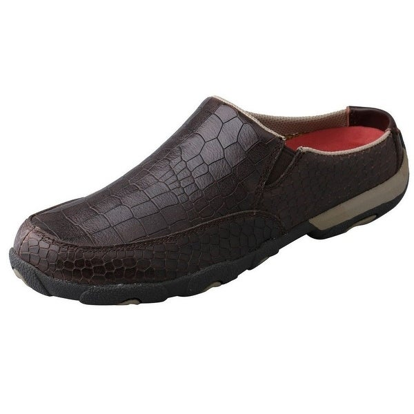 Twisted X Casual Shoes Womens Slip On Driving Moc Dusty Brown