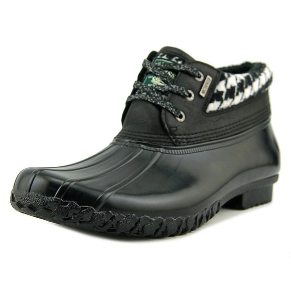 Bass Dorothy Women Round Toe Synthetic Black Rain Boot