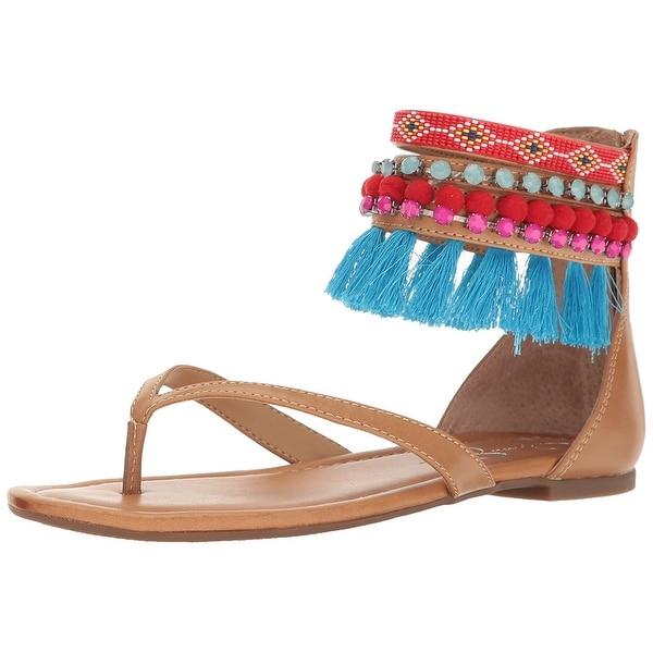 Jessica Simpson Womens Raquelle Open Toe Casual Ankle Strap Sandals