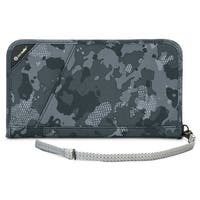 Pacsafe 10566802-Grey Camo RFIDsafe Blocking Travel Organiser w/Detachable Strap