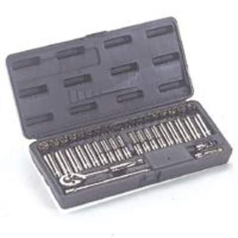 Mintcraft TS-402-1/4SA/ME Socket Wrench Set, 1/4 Drive