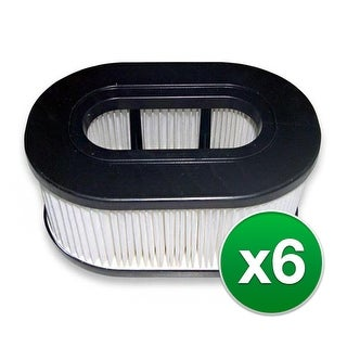 Replacement Vacuum Filter for Hoover 40130050 (6-Pack) Replacement Vacuum Filter